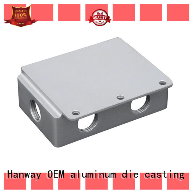 Hanway 100% quality custom aluminum casting with good price for manufacturer