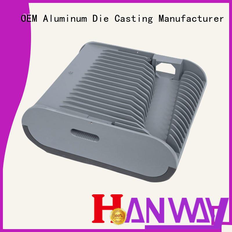 Hanway aluminum die-casting aluminium of lighting parts factory price for outdoor