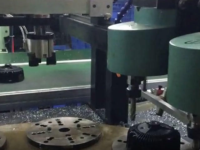 Automatic chamfering new machine