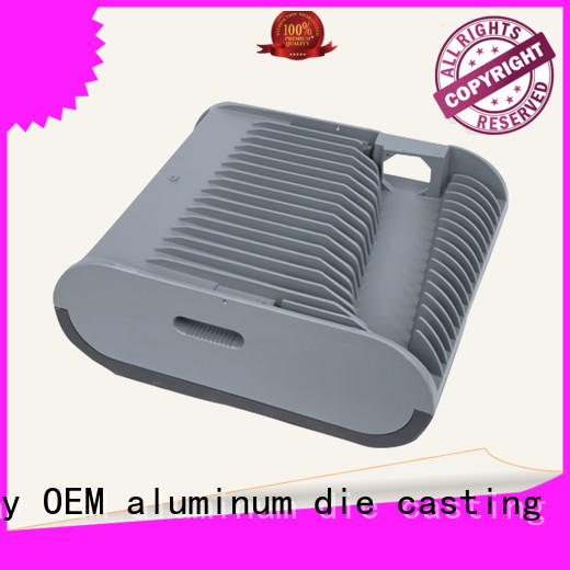 CNC machining recessed lighting housing foundry customized for outdoor