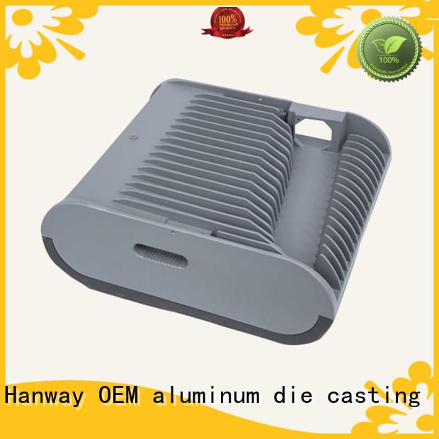 Hanway casting die-casting aluminium of lighting parts customized for light