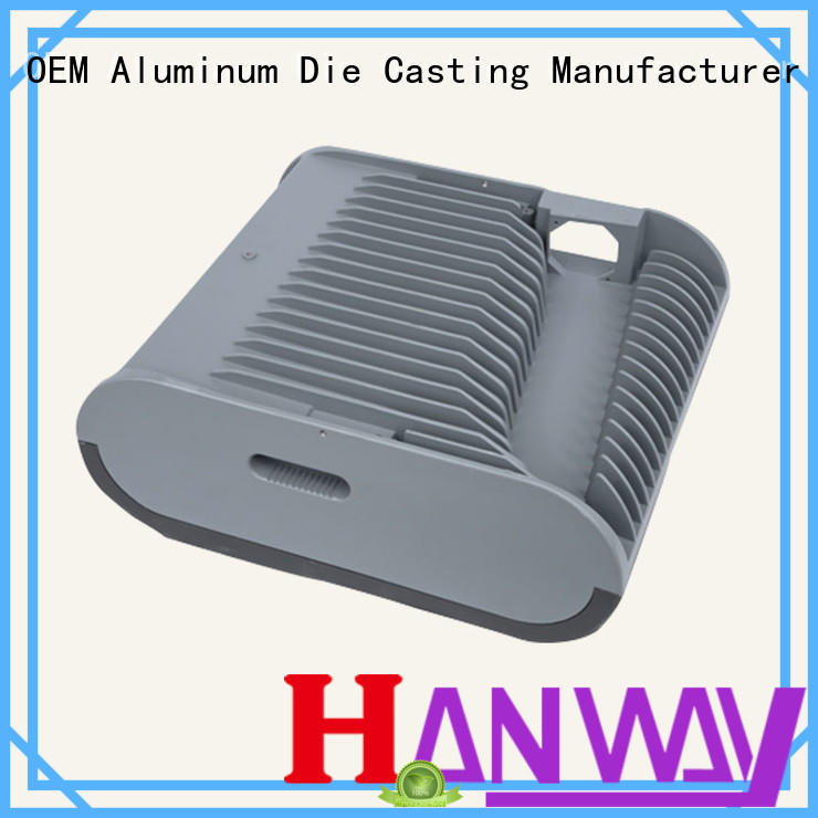 led housing aluminum light housing alloy part for light