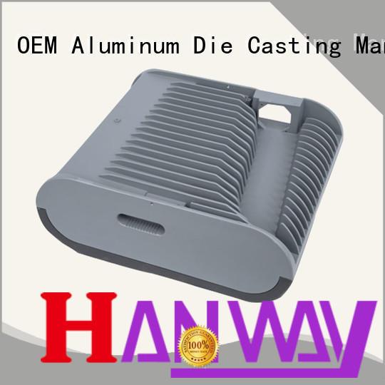 Hanway CNC machining die-casting aluminium of lighting parts customized for mining