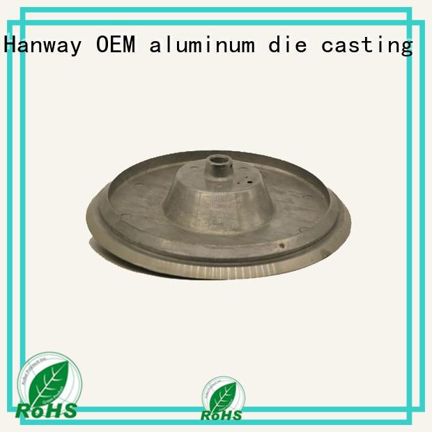 aluminum channel industrial heat Hanway Brand aluminum light pole