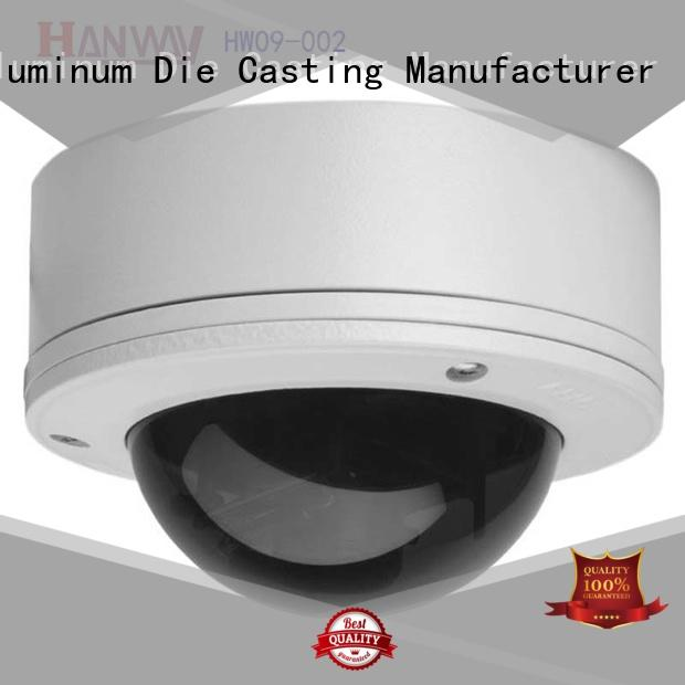 Hanway CNC machining security system accessories supplier for light
