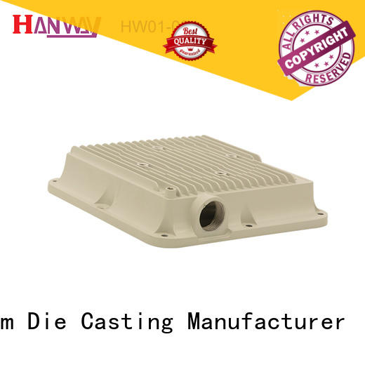 Hanway hw01002 aluminium die casting manufacturers with good price for industry