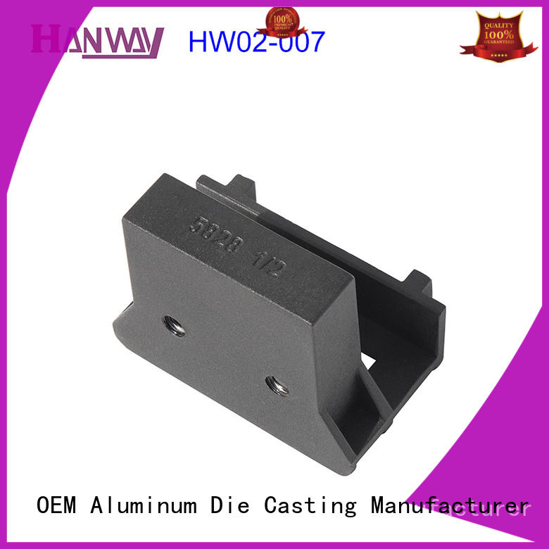 Hanway die casting Industrial parts and components supplier for plant