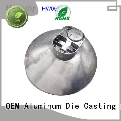 CNC machining light housing hw05013 supplier for lamp
