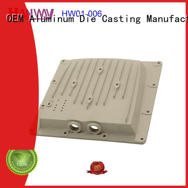 coating aluminum alloy casting hw01007 personalized for manufacturer