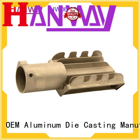 Hanway precise led heatsink supplier for manufacturer