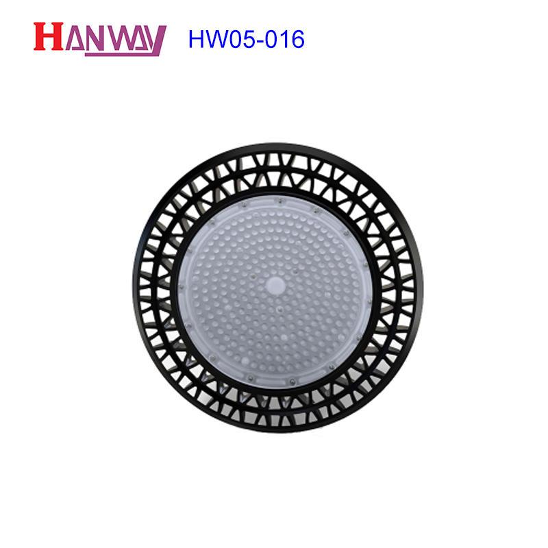 Hanway anodized aluminum light housing part for light-1