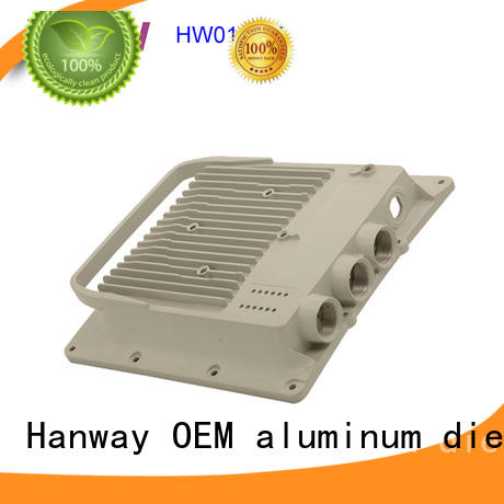 Hanway hw01005 aluminium die casting manufacturers personalized for manufacturer