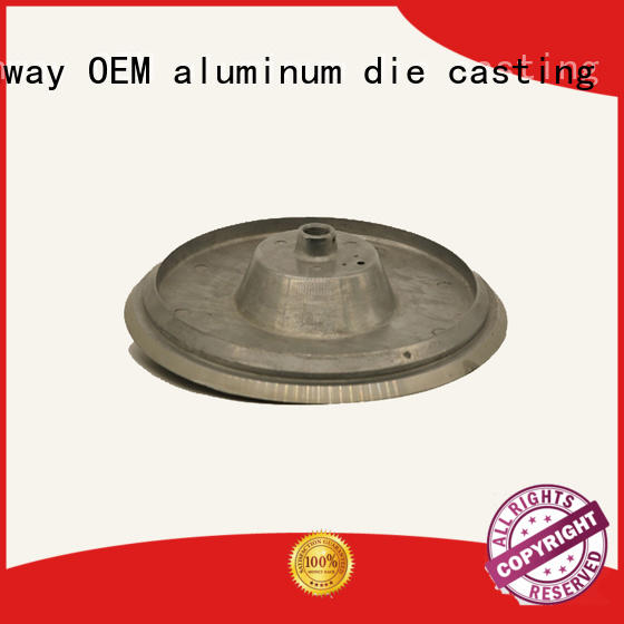 Hanway led housing die-casting aluminium of lighting parts factory price for outdoor