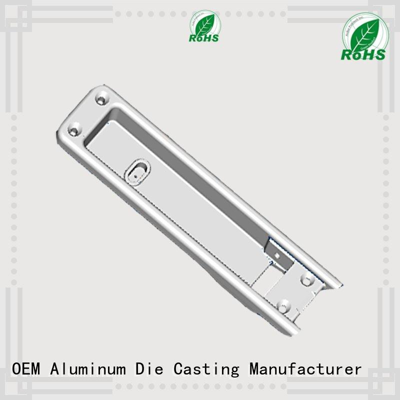 Hot chinese aluminium pressure die casting process aluminum cnc Hanway Brand