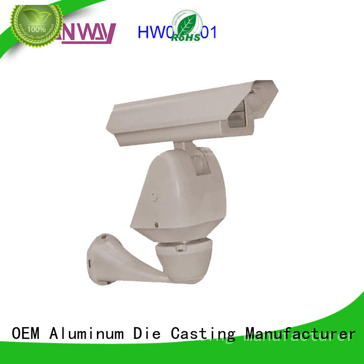 led housing Security CCTV system accessories product customized for light