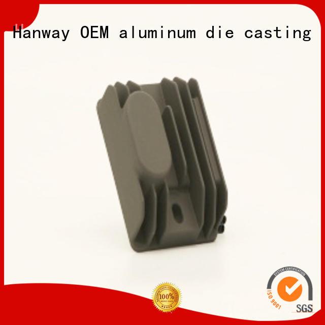 heatsink auto cnc die casting cars auto parts Hanway