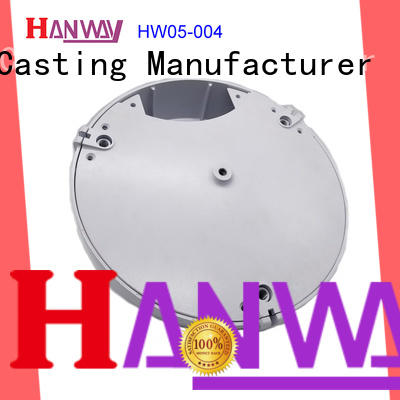 led housing aluminium pressure die casting process hw05002 factory price for mining