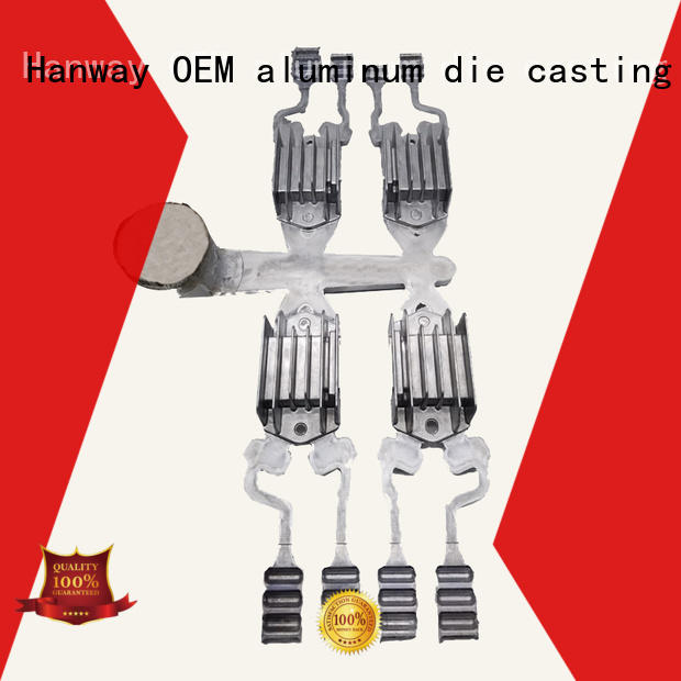 100% quality die casting parts customized for industry