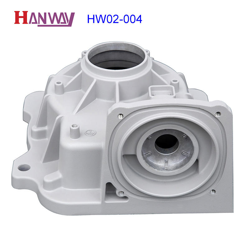 Hanway polished aluminum die casting parts from China for workshop-2