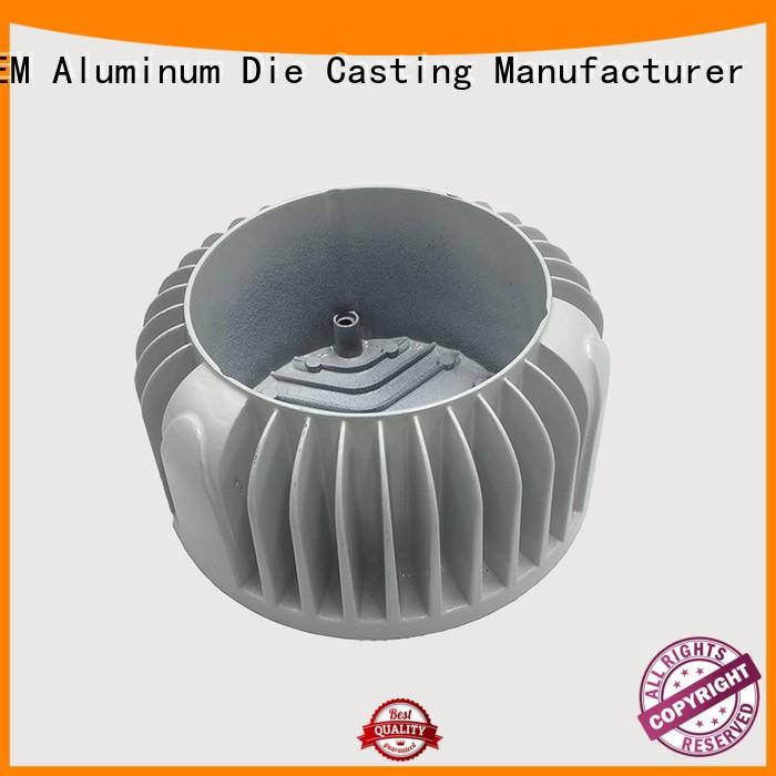 precision die machining Hanway Brand aluminum die cast led heat sink manufacture