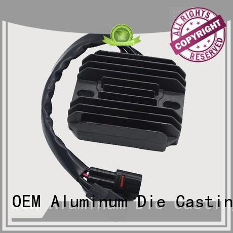 custom heatsink rectifier black heatsink Hanway Brand