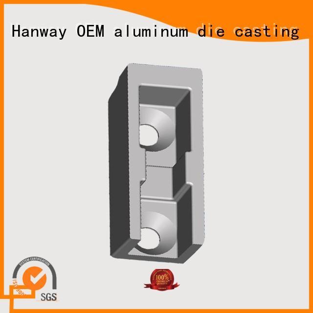 casting customized machining cast Hanway Brand aluminium pressure die casting process supplier
