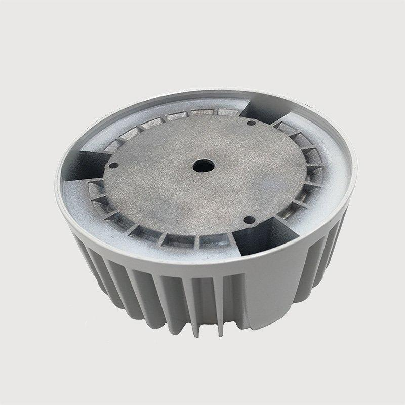 China supplier CNC machining led industrial light heat sink