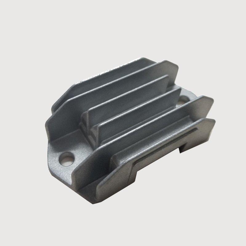 CNC aluminum die casting motorcycle regulator