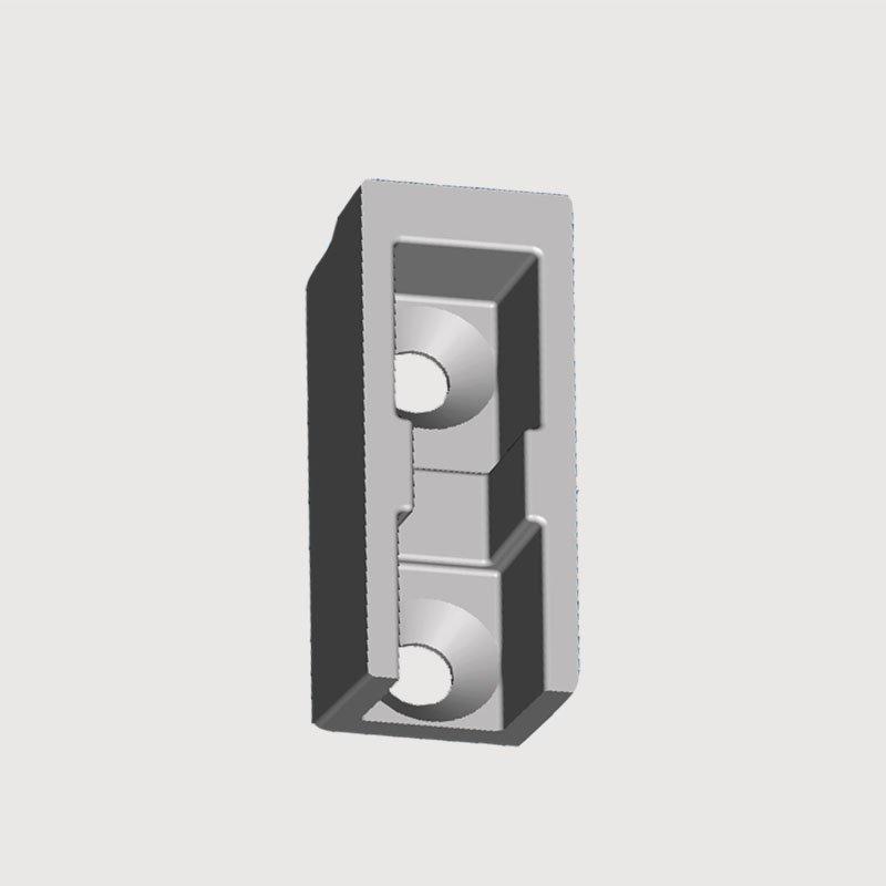 OEM Train Parts aluminum die casting product