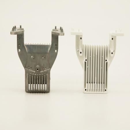 Hanway Aluminum die cast Motorcycle rectifier heatsink Motorcycle Rectifier Heatsink image8
