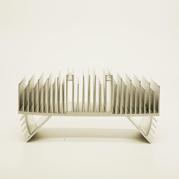 Aluminum foundry LED lighting heat sink