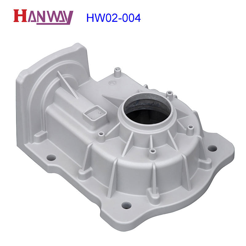 Hanway polished aluminum die casting parts from China for workshop