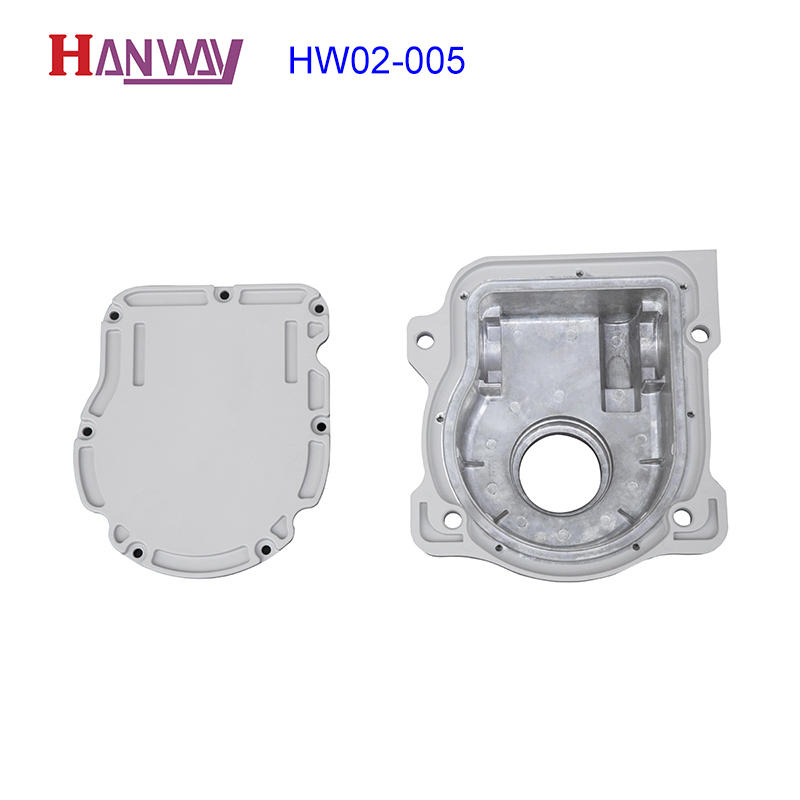 Industrial Aluminum Mechanical Part Made by Die Casting HW02-005