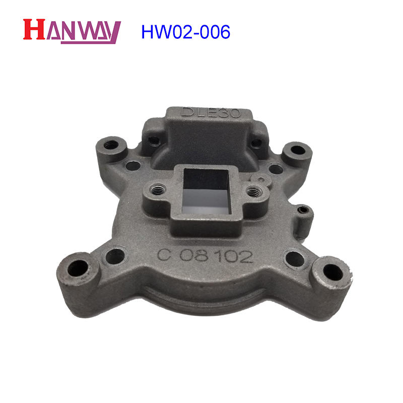 Customized service molded precision die casting aluminum HW02-006