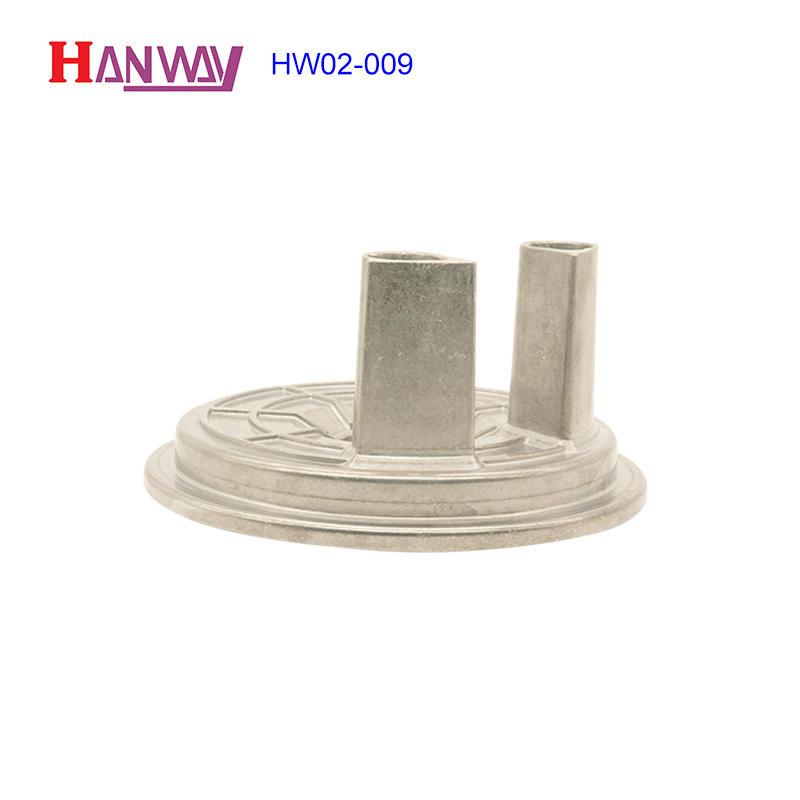 Custom metal precision components aluminium ingot die casting HW02-009