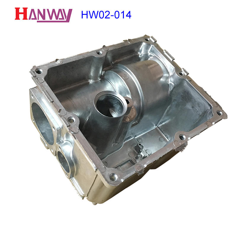 Industry components CNC machining aluminum die casting brass HW02-014
