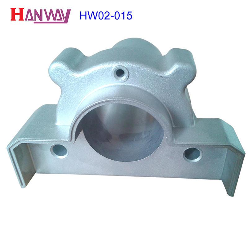 Powder coating machinery cast iron aluminium copper die casting  HW02-015