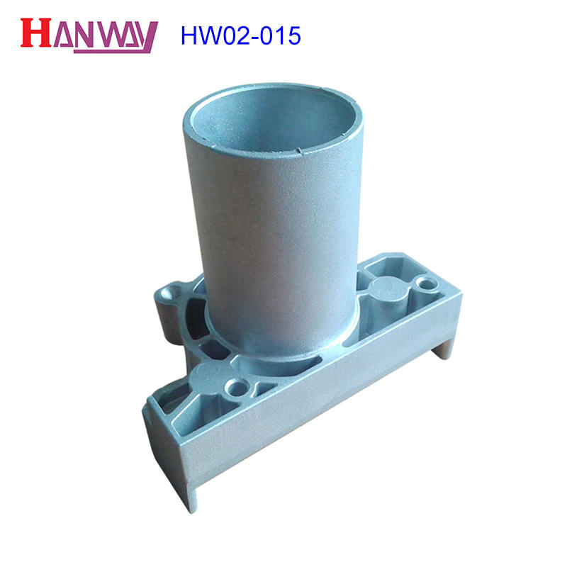 Powder coating machinery cast iron aluminium copper die casting  HW02-015