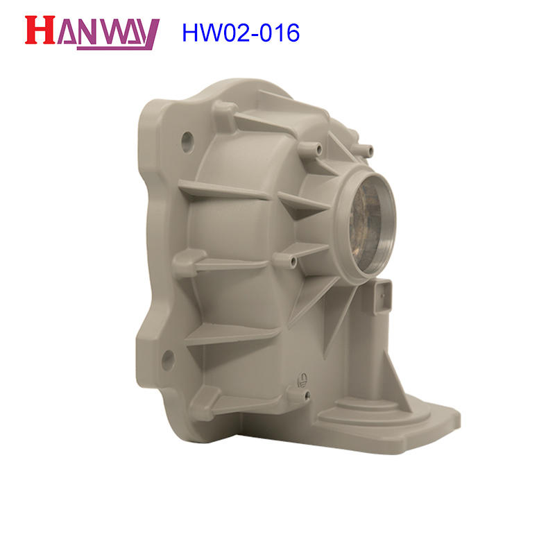 Customized parts precision aluminum steel zinc alloy die casting HW02-016