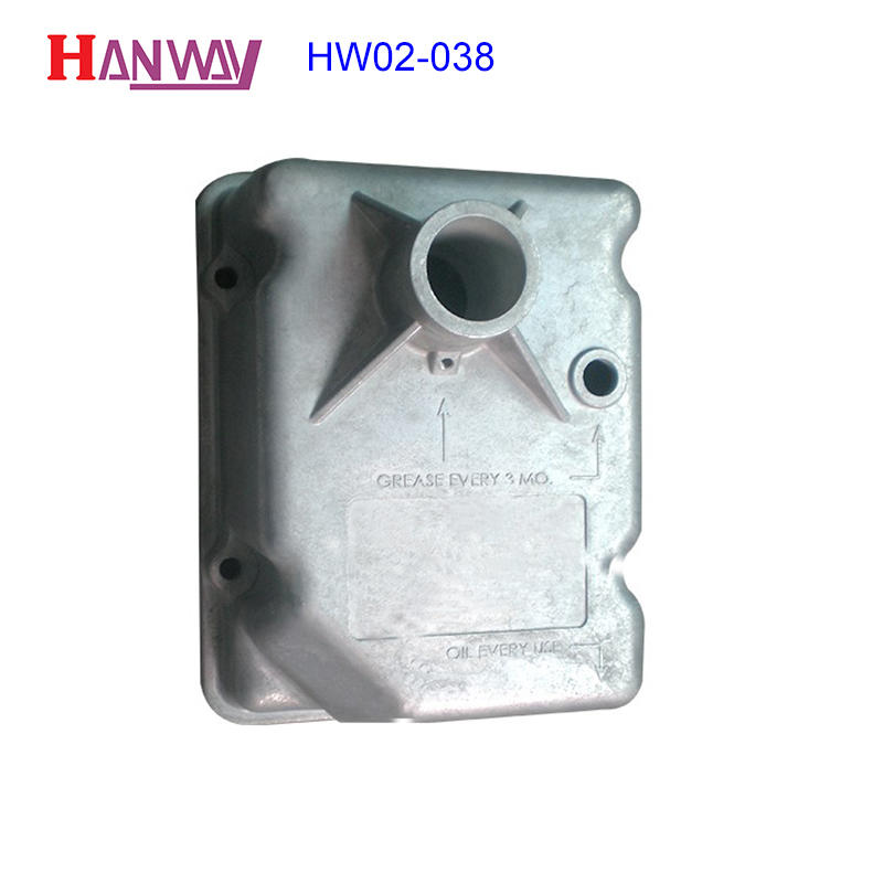Manufacturing aluminium precisely magnesium die casting parts HW02-038