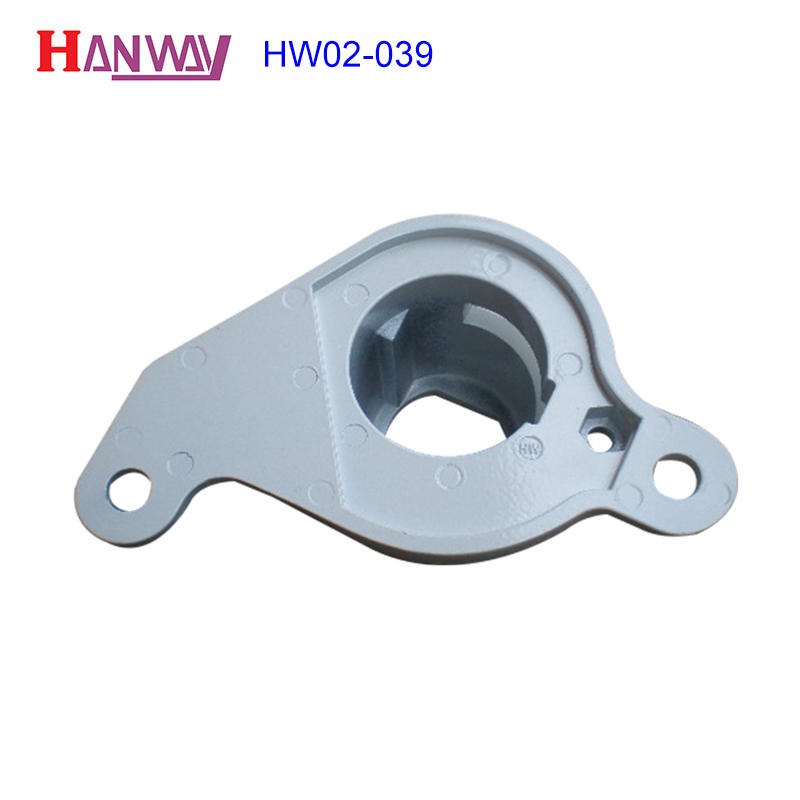 High standard aluminum machinery private customized die casting part HW02-039