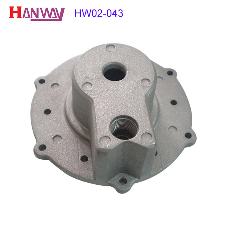 Manufacturers polished stainless steel zinc alloy die casting parts  HW02-043
