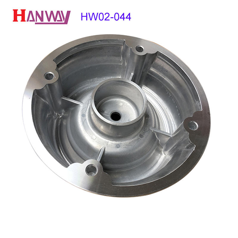 High precision complex aluminum die casting machine spare parts HW02-044