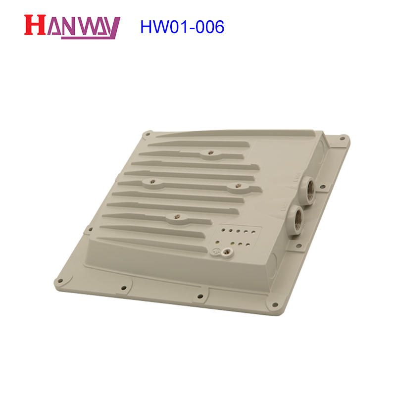 Aluminum foundry wireless antenna enclosure HW01-006