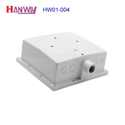 aluminum die casting CNC machining wifi antenna enclosure housing  HW01-004