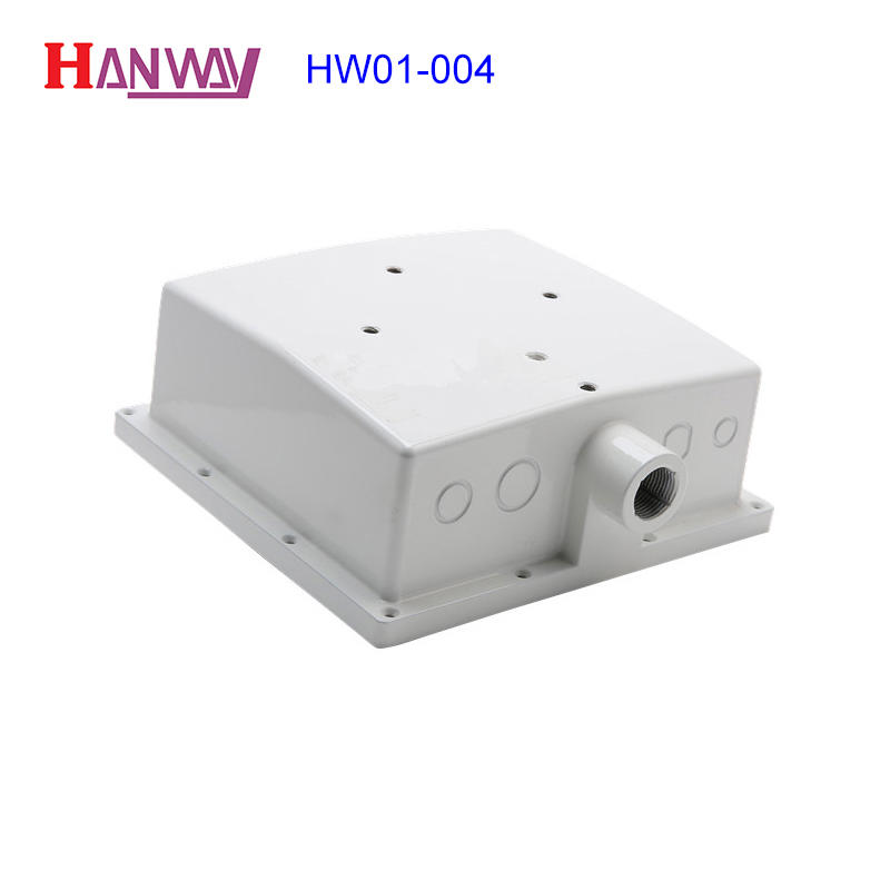 aluminum die casting CNC machining wifi antenna enclosure housing  HW01-004