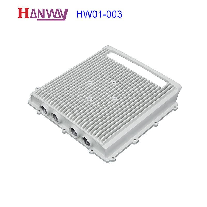 Customized die casting wireless shell aluminum heat sink HW01-003