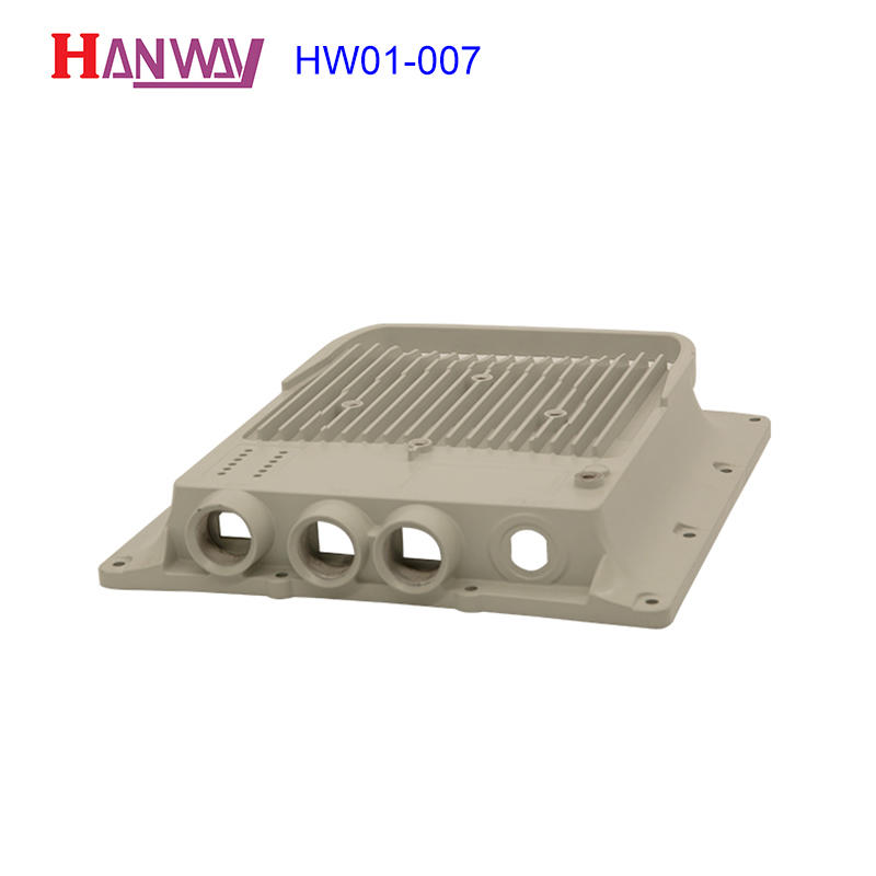Customized die casting wireless shell aluminum heat sink HW01-007