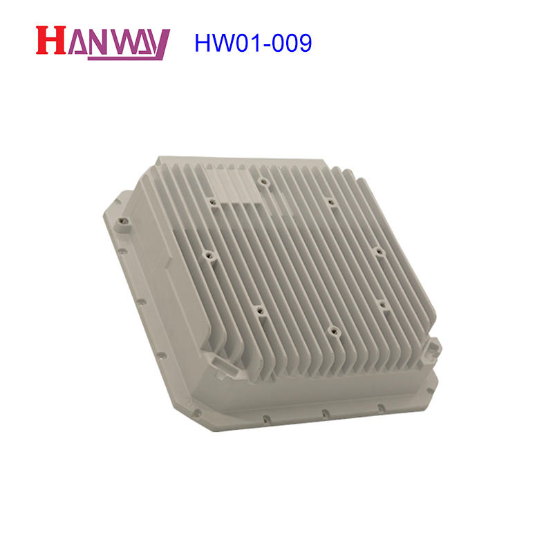 Guangdong manufacturer oem product powder coating die cast aluminum enclosure wireless antenna HW01-009