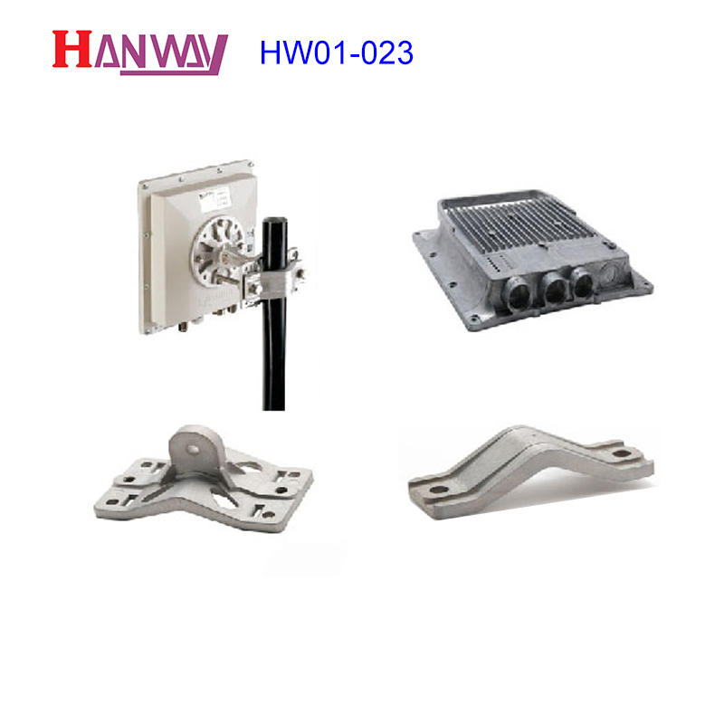Hot sale aluminum die casting wireless antenna connection part  HW01-023